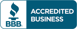 BBB A + rating logo