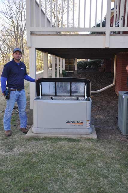 generator installation bimringham al